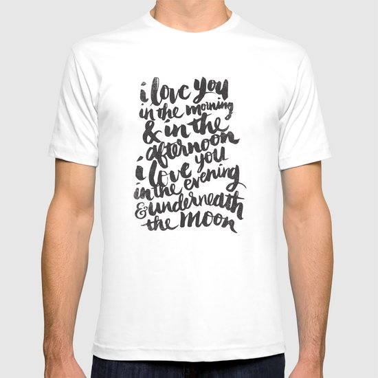 I love you in the morning T-shirt