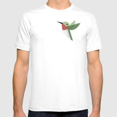 Muttervogel White MEDIUM Mens Fitted Tee
