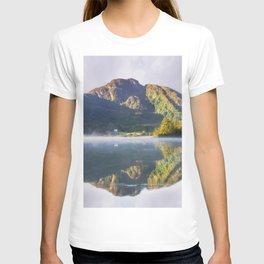 Misty Dawn Lake T-shirt