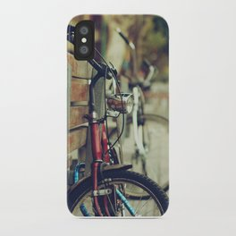 The street is quiet iPhone Case