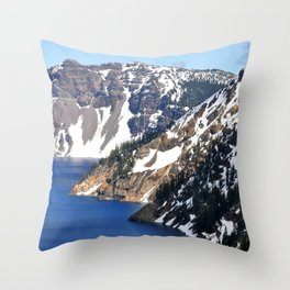 CRATER LAKE - 1 Throw Pillow