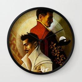 Gemini Zodiac Sign Dorian Pavus Wall Clock