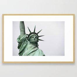 Face of Freedom Framed Art Print