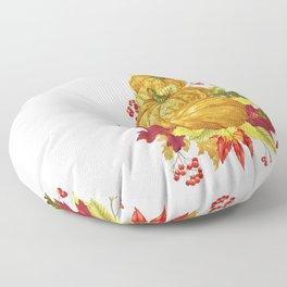 Harvest Season Mountain Floor Pillow