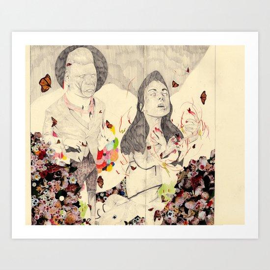 deathofaqueen Art Print