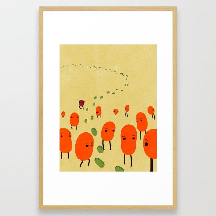 Mystery. Framed Art Print