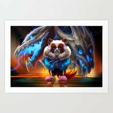 MegaNOvania Art Print