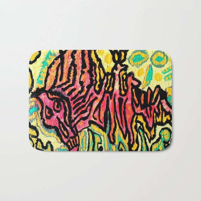 art fear painting Bath Mat