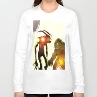 monsters Long Sleeve T-shirts featuring Monsters by Ganech joe