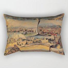 Oriental railways to Constantinople Rectangular Pillow