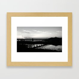 One on One Framed Art Print