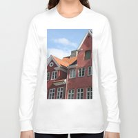 copenhagen Long Sleeve T-shirts featuring Copenhagen Sun by Abby Hoffman