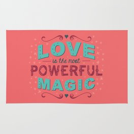 Love is the Most Powerful Magic Rug