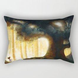 A Step Toward the Magical Wood Rectangular Pillow