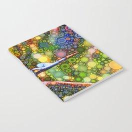 Dotty Bird of Paradise Notebook
