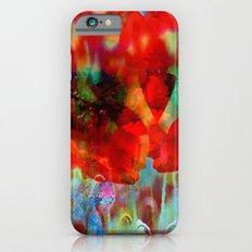 Simple as flowers iPhone 6 Slim Case