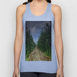 Corn Field Unisex Tank Top