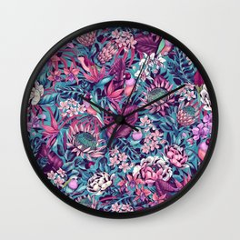 Stand Out! (electric blue) Wall Clock
