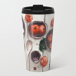 Christmas Holiday Table Travel Mug