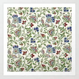 "William Morris ""Brentwood"" Art Print"