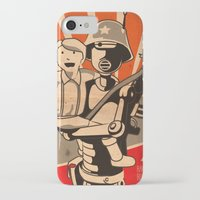 propaganda iPhone & iPod Cases featuring Propaganda Series by Alex.Raveland...robot.design.digital.art