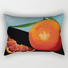 Blood Orange Rectangular Pillow