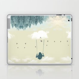Lucy in the clouds Laptop & iPad Skin