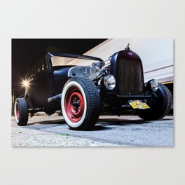 Classic Roaster in Color Canvas Print