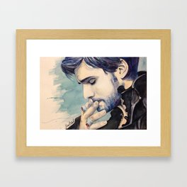 I Know How You Kiss Framed Art Print
