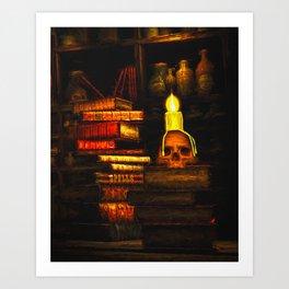 Books Of Magic Art Print