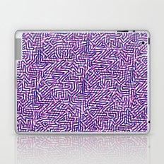 fluo pinkblue Laptop & iPad Skin