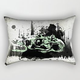 Sanity Escapes Me Rectangular Pillow
