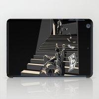 film iPad Cases featuring Film noir by wonman kim