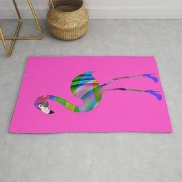 Chic Flamingo Rug
