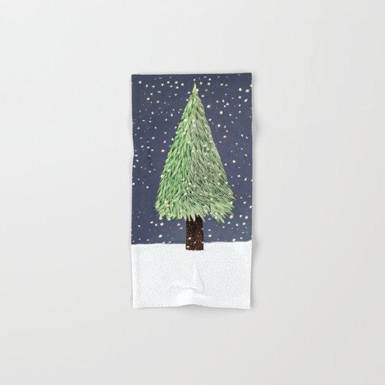Winter Tree Hand & Bath Towel
