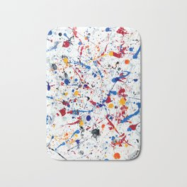 Abstract #3 - Exhilaration Bath Mat