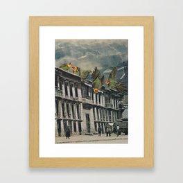 Visitors Framed Art Print