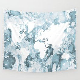 Design 103 World Map Wall Tapestry