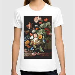 "Rachel Ruysch ""Still-Life with Flowers"" T-shirt"