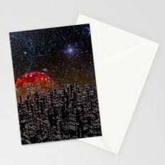 Blood Moon Rising Stationery Cards