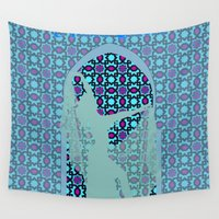 arabic Wall Tapestries featuring arabic dancer by Ricardo Jeronimo