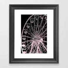 FairyWheel Framed Art Print