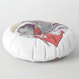 Smooth Sailing Floor Pillow