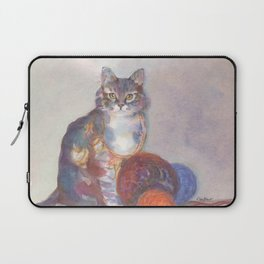 Purling Puss Laptop Sleeve