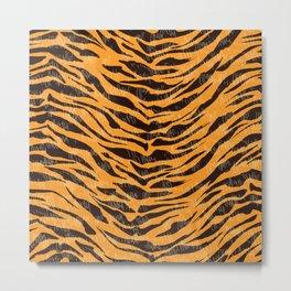 Tiger fur,tiger skin, animal skin pattern, desert pattern Metal Print