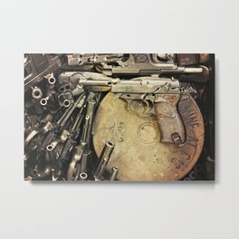 An art of Peacemaking Metal Print