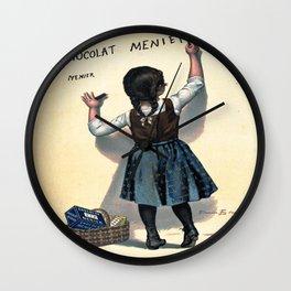 Vintage poster - Chocolat Menier Wall Clock