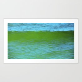 Ocean Wave Composite Art Print
