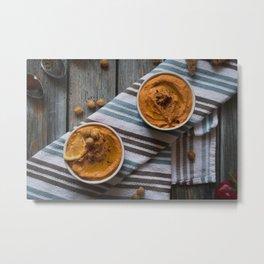 Food - Food Styling - Hummus Metal Print