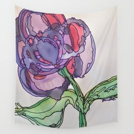 Purple and Pink Wall Tapestry